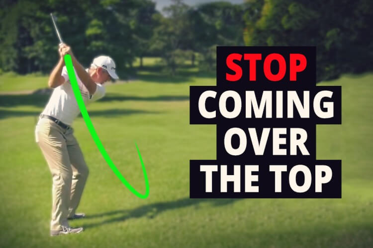Fix your over the top golf swing by learning this great information in this Reverse Slice Sequence review