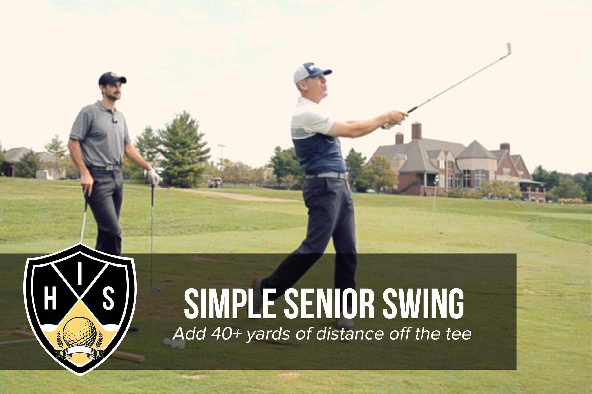 Simple Senior Swing System Review 1 Golf Program For