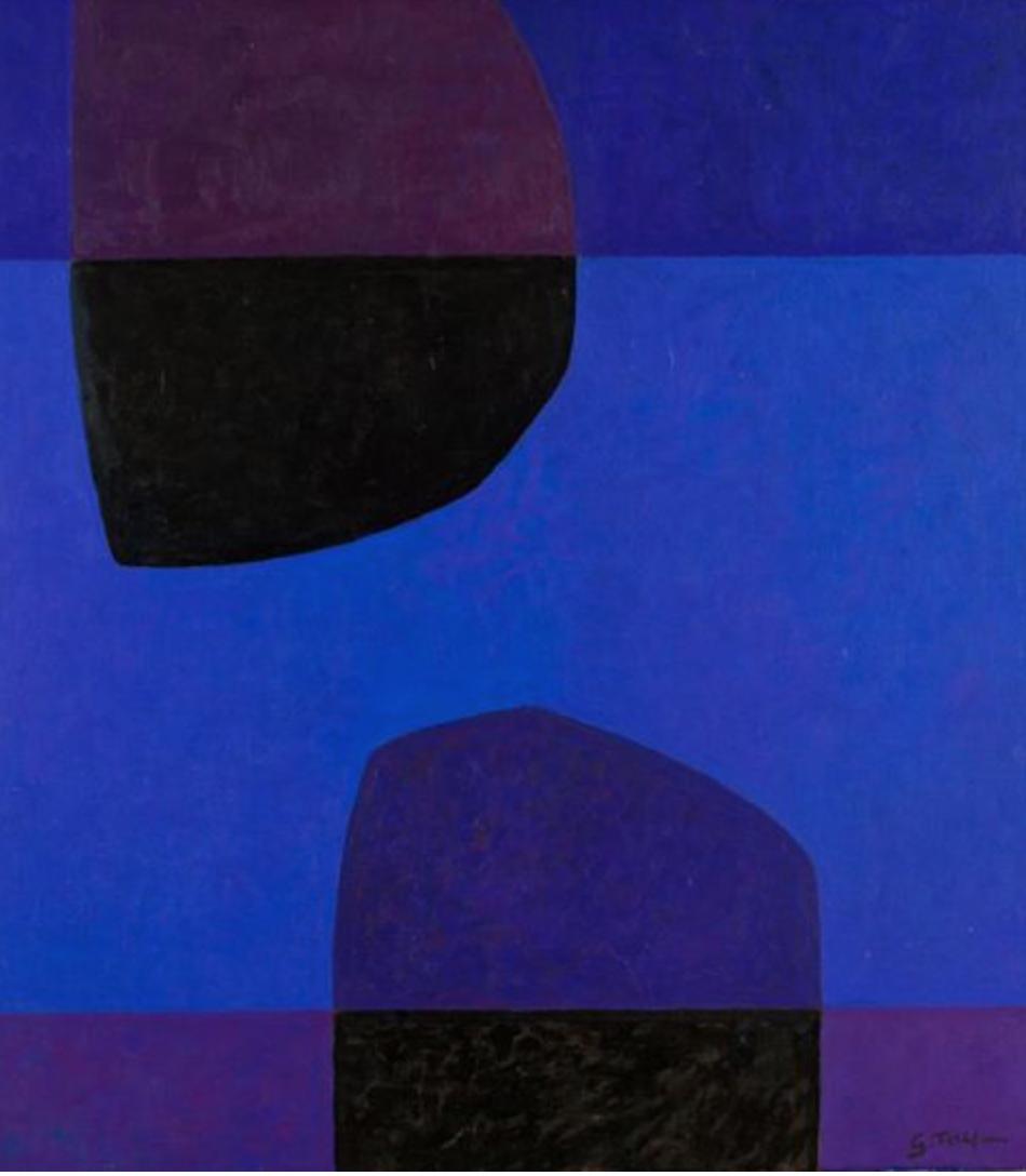 Gunnar Tollefsen: Blå Speiling