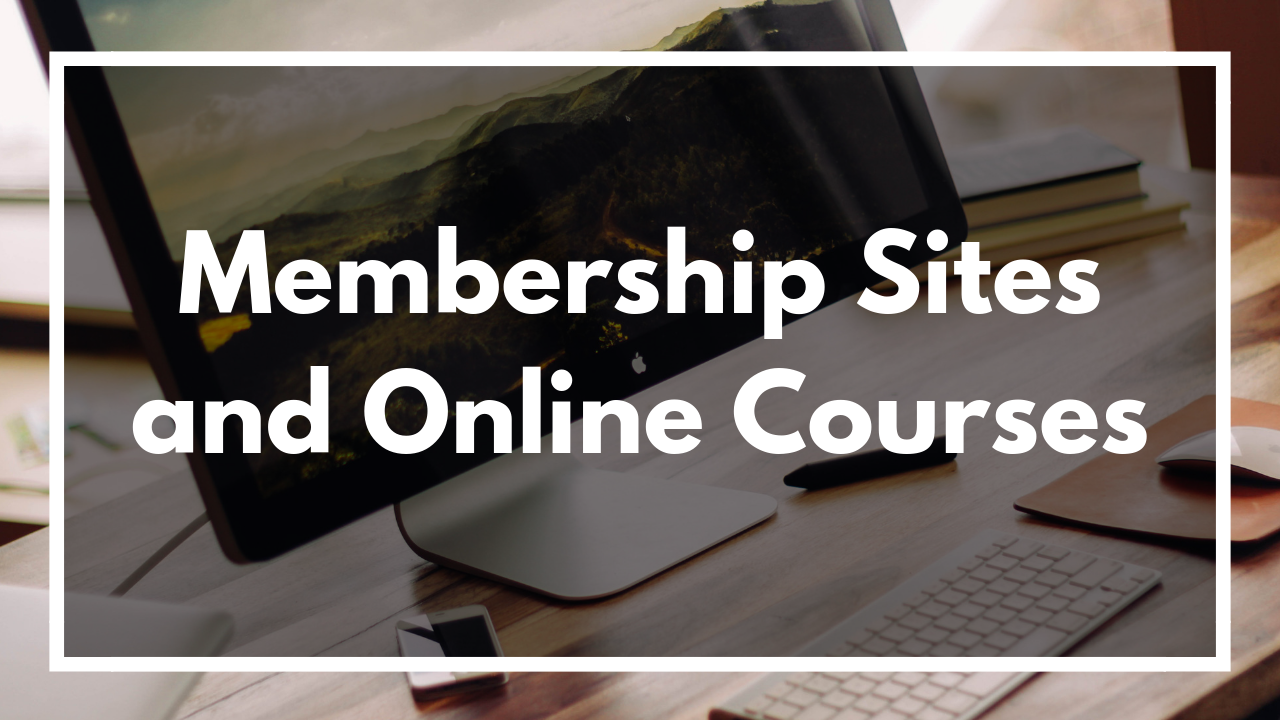 Consider a Membership site to generate revenue for you on a recurring basis. This is an awesome investment in some passive income.