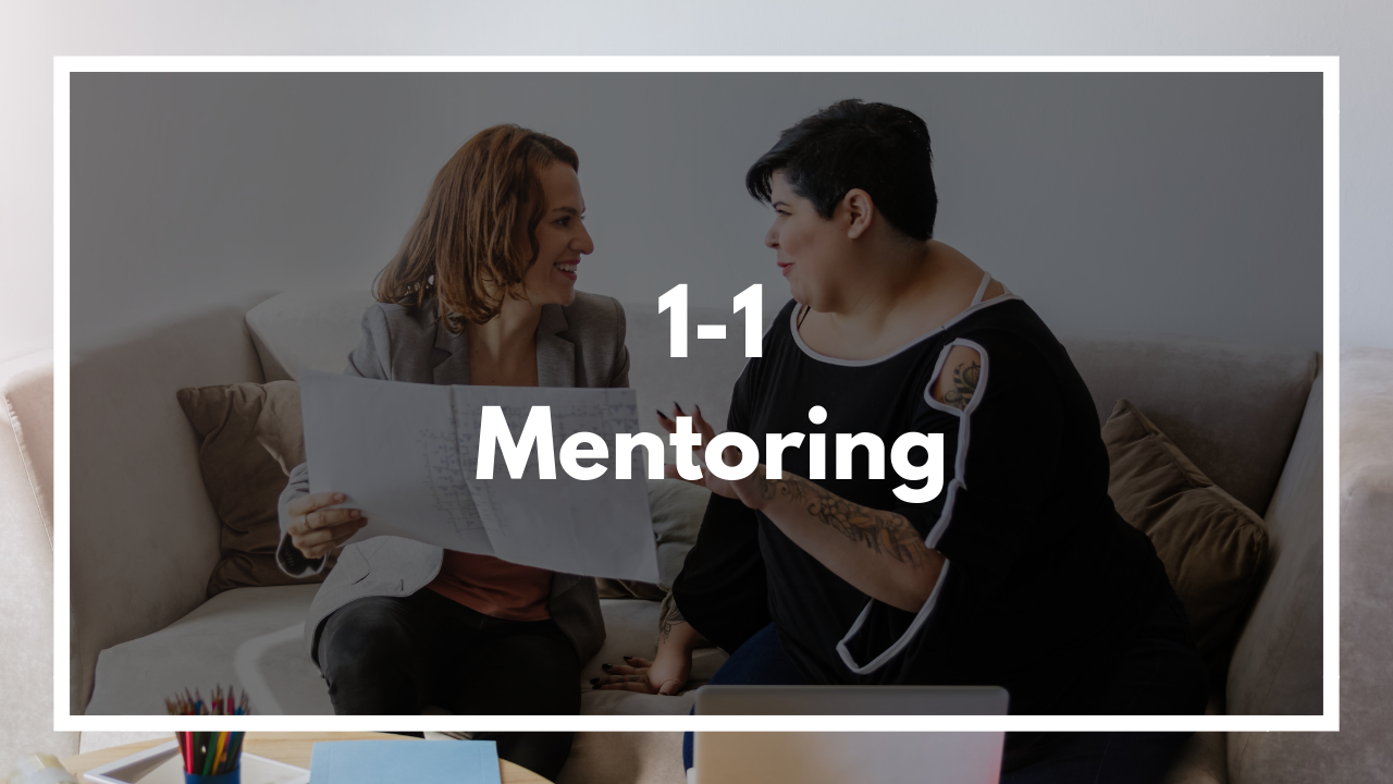 Let me be your partner and receive 1-1 Mentoring. Click to View Pricing >>