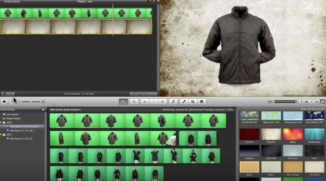 How to Green Screen in iMovie. -