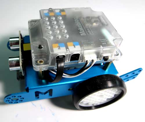 Makerblock mBot (x6) - mBot is a STEAM education robot for beginners, that makes teaching and learning robot programming simple and fun.