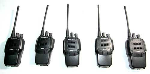 Walkie Talkies (x5) - We have five walkie talkies that could be bennifical during field trips.
