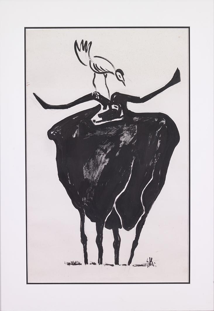 Bird and Buffalo II