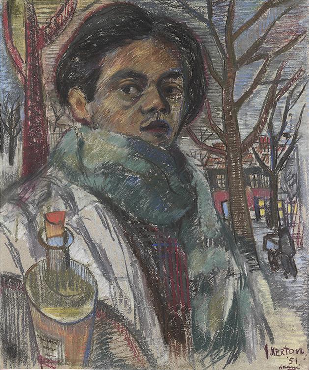Self-Portrait in Amsterdam