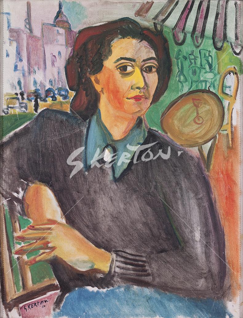 Madame Odette du Paris (Woman in Paris Café)