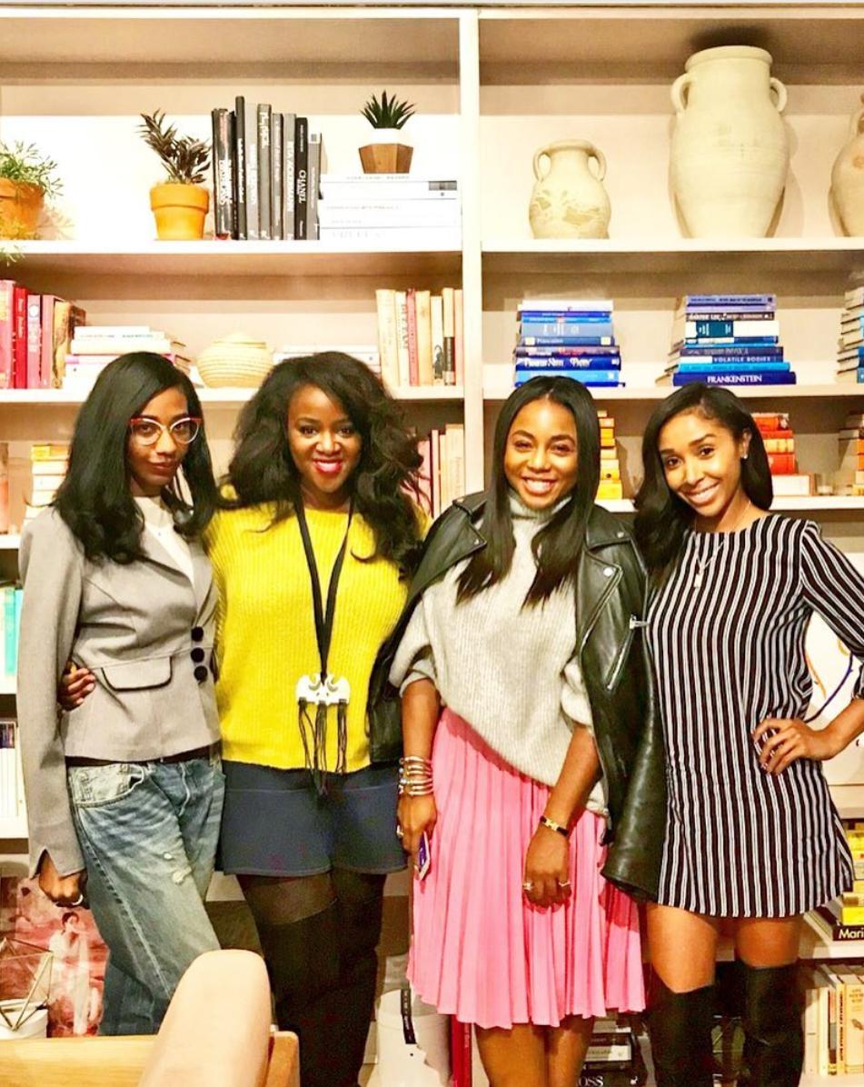 November 2017 #BlackGirlsWhoBlog event at The Wing (via @ cosmorgpolitan )