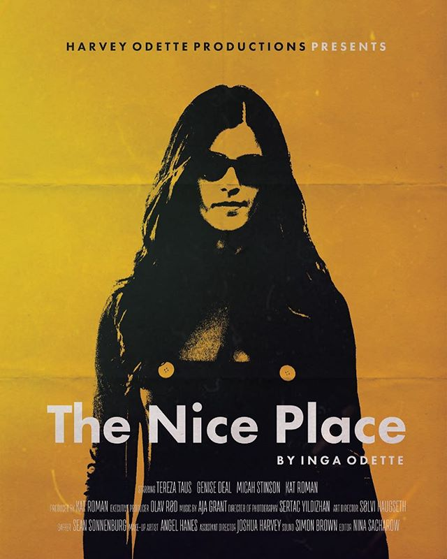 Poster made by @shaugseth . . . . . . . . . . . . . . . . . . #theniceplacefilm#indiefilm#nyc#womeninfilm#actor #posterdesign #film #filmposter #comingsoon #shortfilm