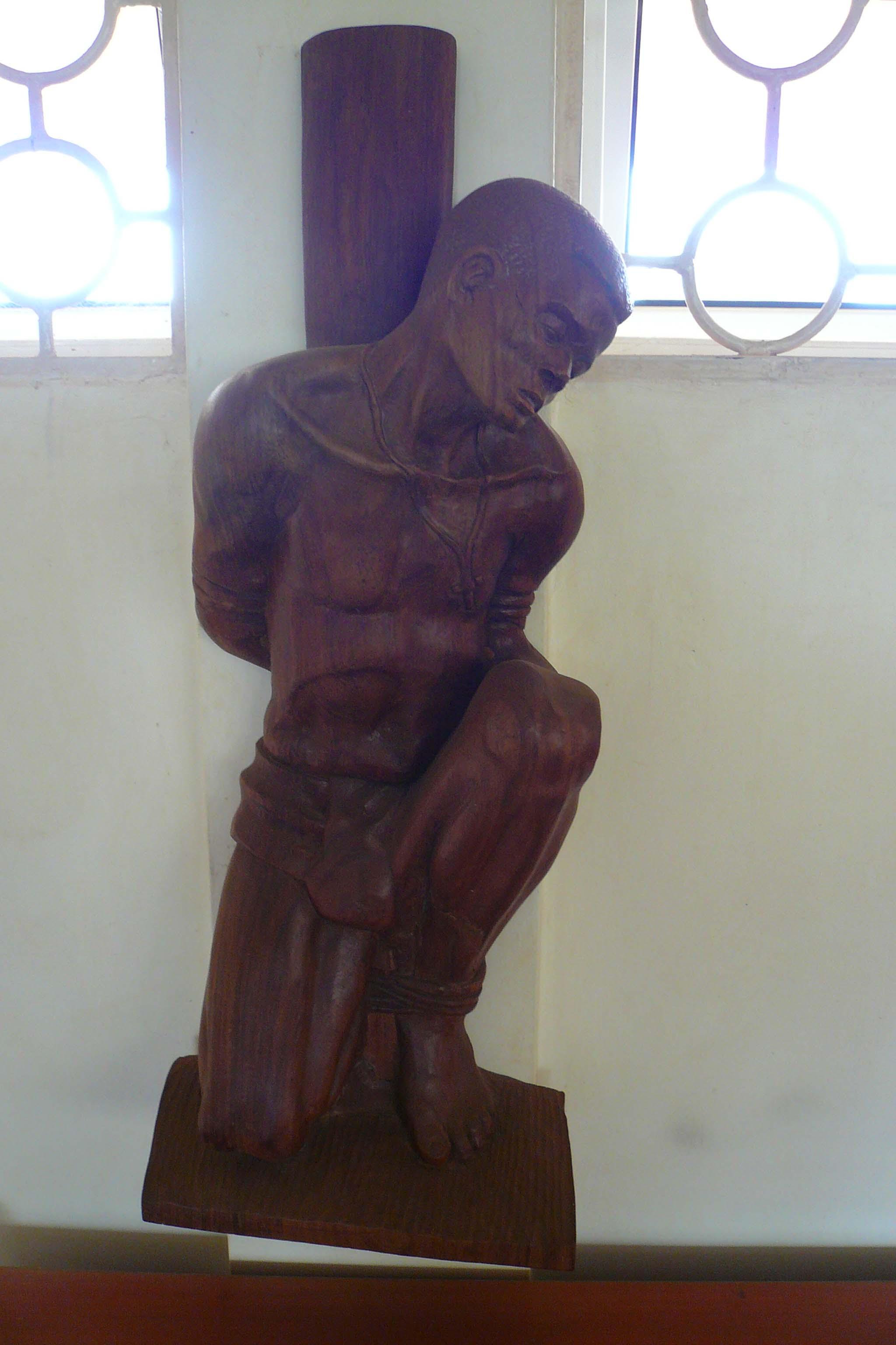 Ugandan Martyr Carving
