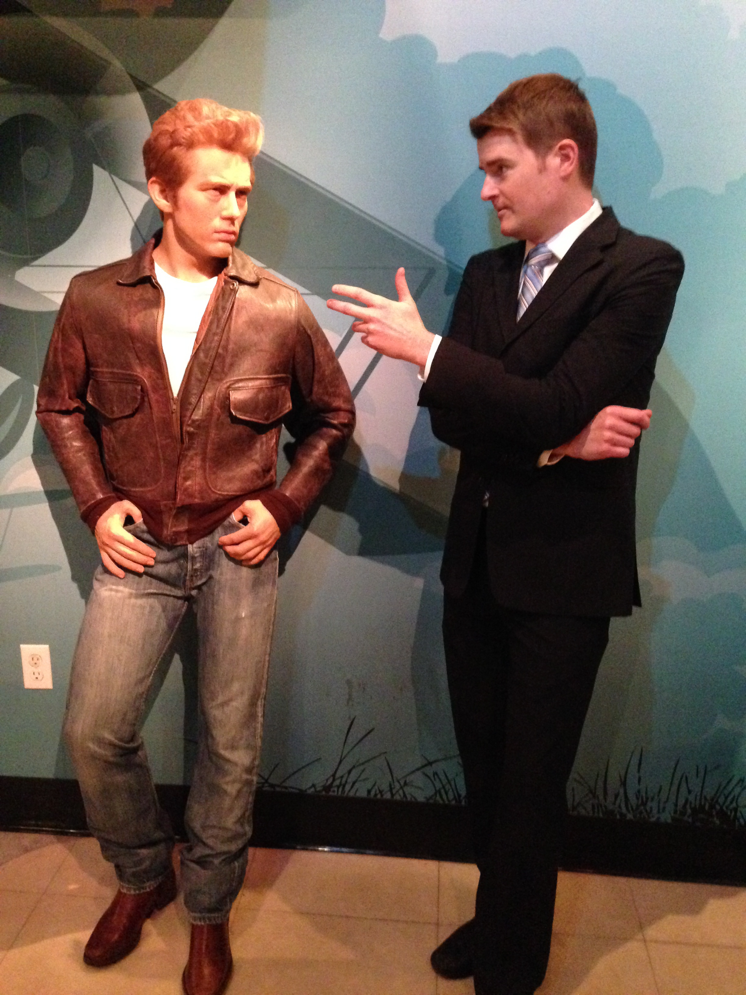 He was skeptical at first, but I eventually won Canadian icon James Dean over with my 3-point plan for Senate transparency.