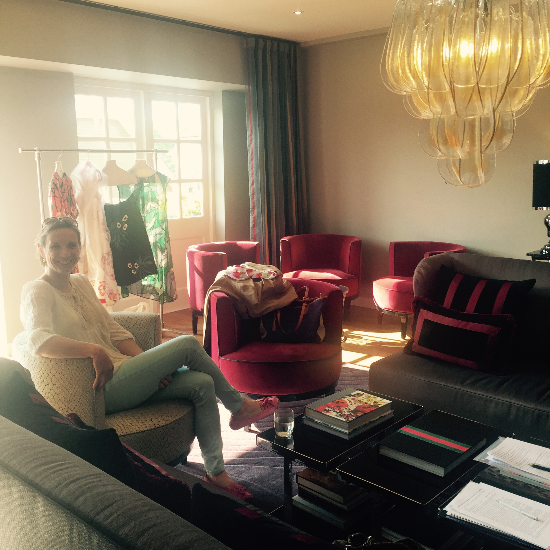 …to enjoying the VIP Lounge at Bicester Village!