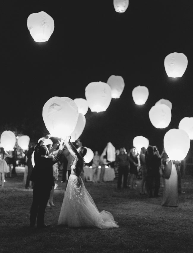 honeymoon getaways paper lanterns