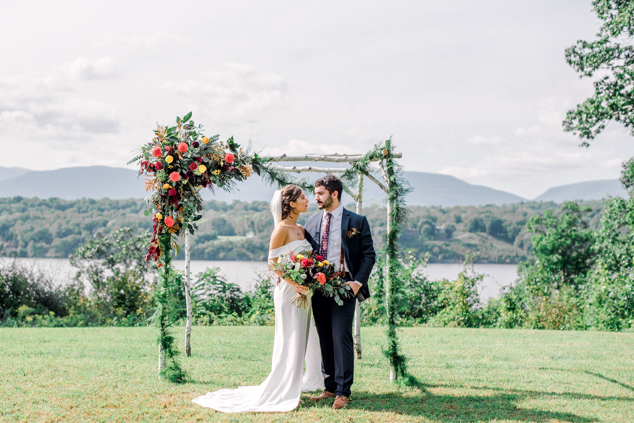 Hudson Valley Fall Wedding Germantown NY