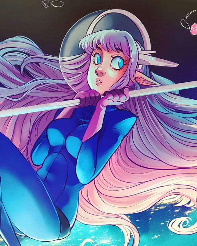 📢 SHOUTOUT RAFFLE 📢 Like and Comment for a chance to get a story shoutout! I will feature 2 creative followers in approx. 24 hours ♡ - More work in progress of Aurora ✨ Haven't been able to work on this for a few weeks due to other work but I really want to finish it in time for Genki next week 😭 I hope yoy all have a nice Saturday and weekend 💖 ______________________________ #procreate #digitalpainting #photoshopdrawing  #cartoonartist #comicartist #artstyle #drawingstyle #digitalart #digitaldrawing #artaccount #comicstyle #digitalpainting #tegning #characterdesign #originalcharacter #oc #spaceart #sciencefantasy #aurora