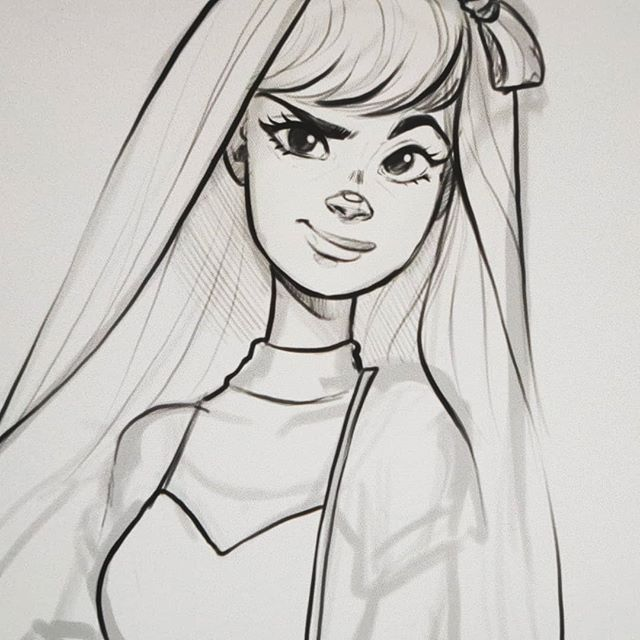 ⭐ FOLLOWER SHOUTOUT 📢 Like and Comment for a chance to get a story shoutout! I will feature 2 followers' art  in approx. 24 hours ♡ - I've been so busy lately ToT So today all I can give you is a WIP sketch #mightdeletelater🤔 🌸 Youtube.com/c/Nadiaxel 🌼 Etsy.com/shop/NadiaxelArt ______________________________  #artstyle #cartoonartist #comicartist #nadiaxel #tegning #drawingstyle #digitalart #digitaldrawing #freelanceillustrator #artstyle #comicstyle #procreate #digitalsketch #stylizedart #stylizedartwork #powerpuffgirls #ppg #blossom
