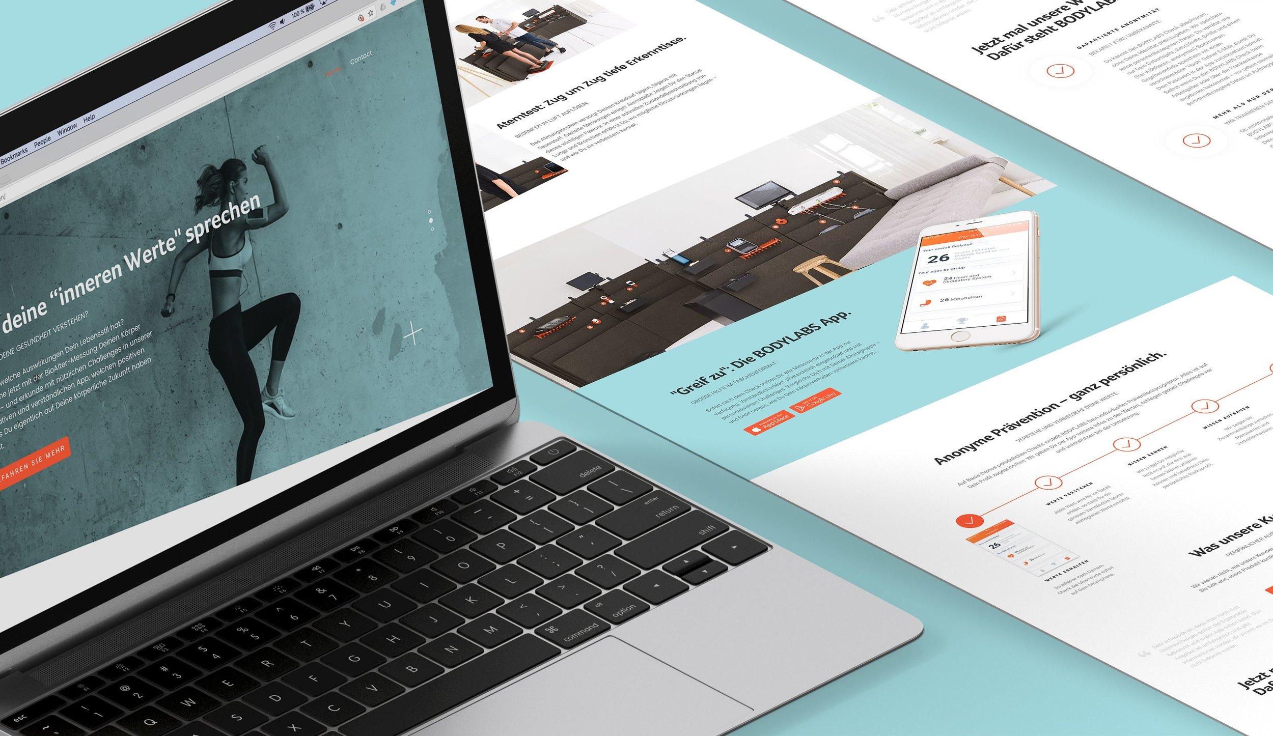 B2C Landing page design