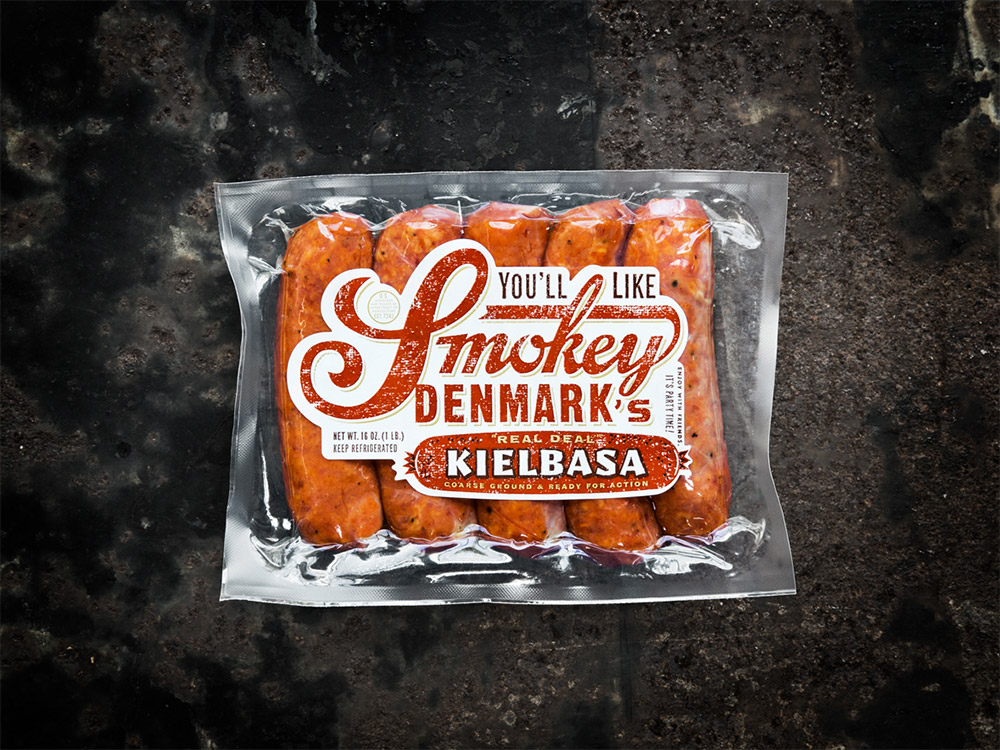 """Kielbasa  It's the Polish word for """"sausage,"""" and we consider ours the real deal."""