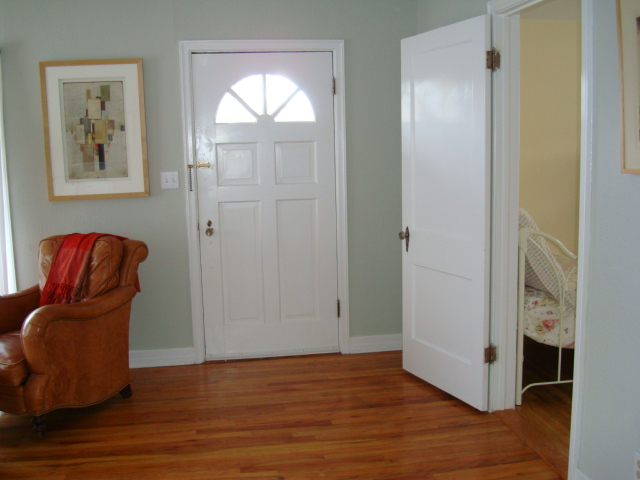 looking from dining area to front door - Vito's room to right.JPG
