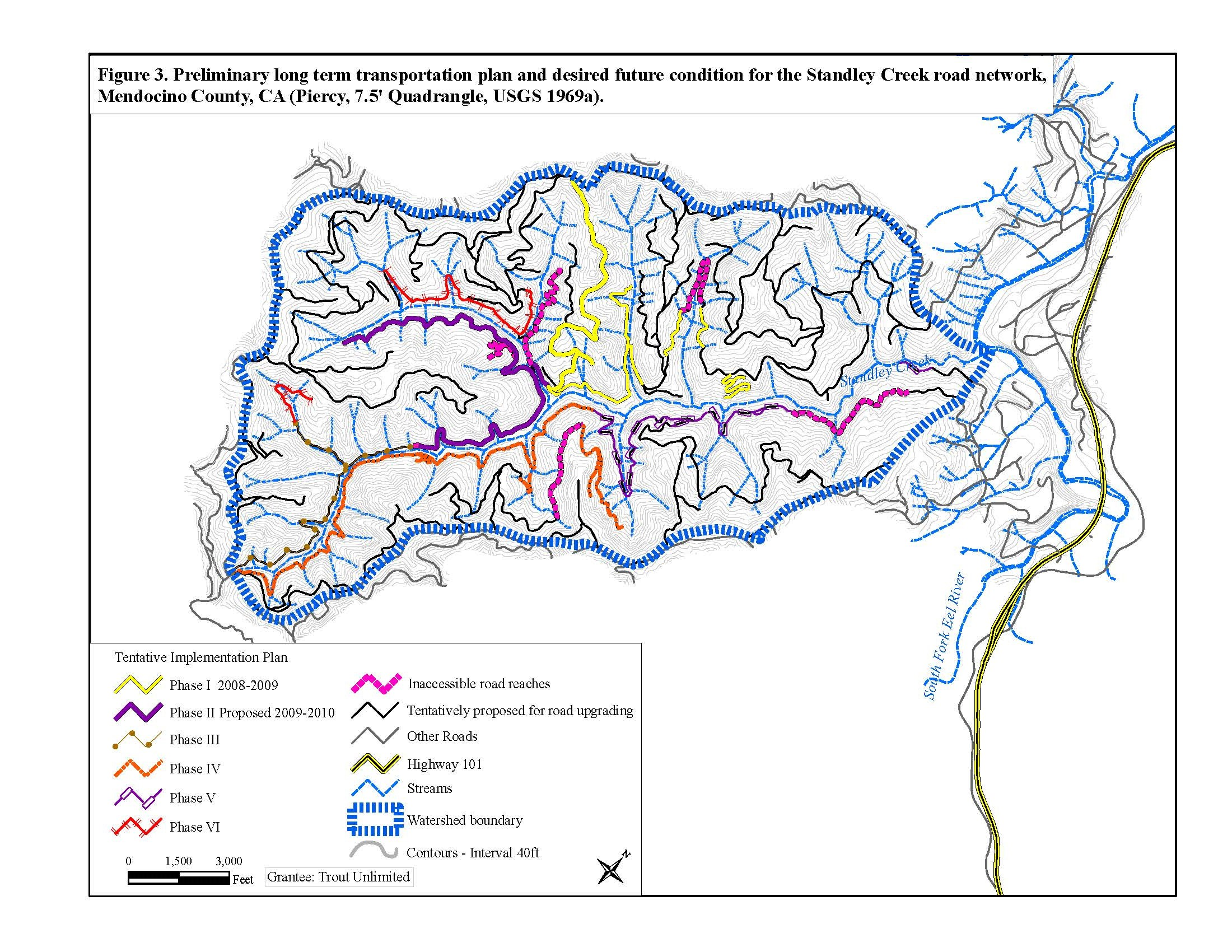 Standley Creek - Six phases of sediment reduction projects since 2011.- 19.7 miles treated- 103, 059 cubic yards of sediment prevented from entering Standley Creek.
