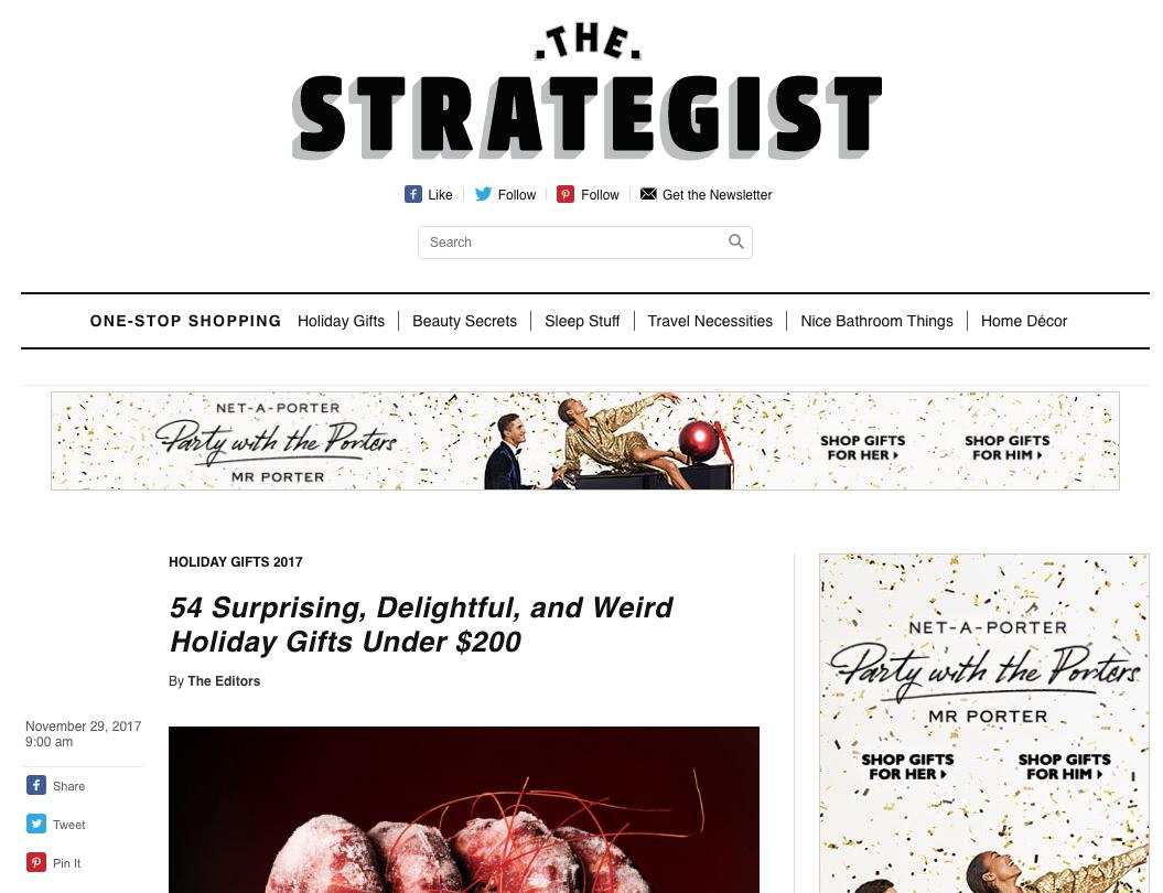 NY Mag The Strategist