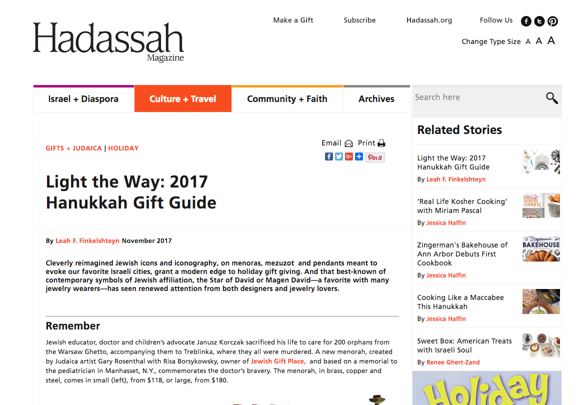 Hadassah Magazine