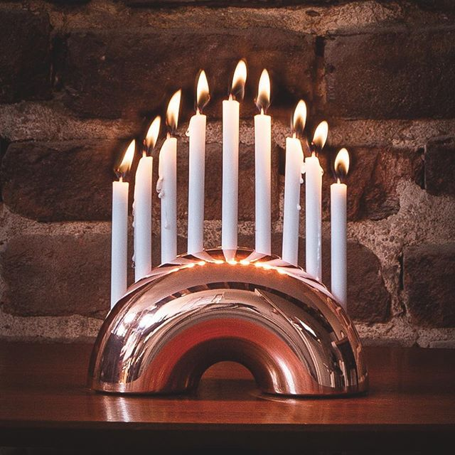 30% OFF Rose Gold Nosh Menorah!  It's wedding season, and if you are looking for a great gift the Rose Gold Nosh Menorah will be 30% off for the entire month of May at modern-mensch.com when you use the code MAY30. Happy Spring!  The Nosh Menorah is designed by @leadoffstudio . . . . . . . . #jewishdesign #judaicadesign #jewish #judiasm #JewishArt  #JewishHolidays #Judaica #JudaicaArt #JewishStyle #JewishCulture  #JewishHolidays #jewishweddings #kosher #notkosher #jewishweddinggift #jewishwedding #jewishbride #chuppah #ketubah #menorah #jewishgift #weddinggift #jewish #weddinggiftsidea #weddinggiftideas #designinspo #designdaily #designoftheday #designlovers #designaddict