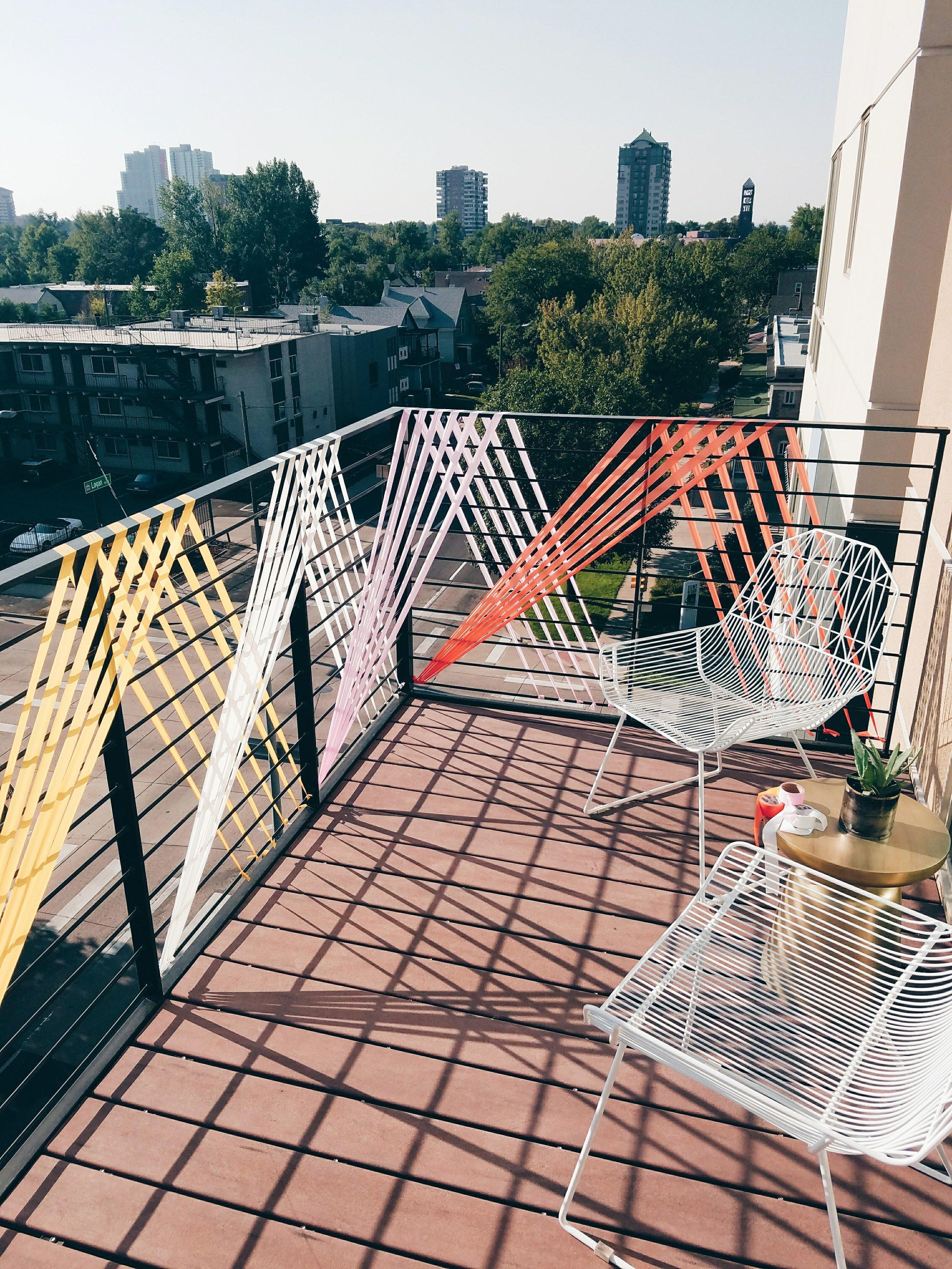 Balcony Installation - Macher Studio - Denver