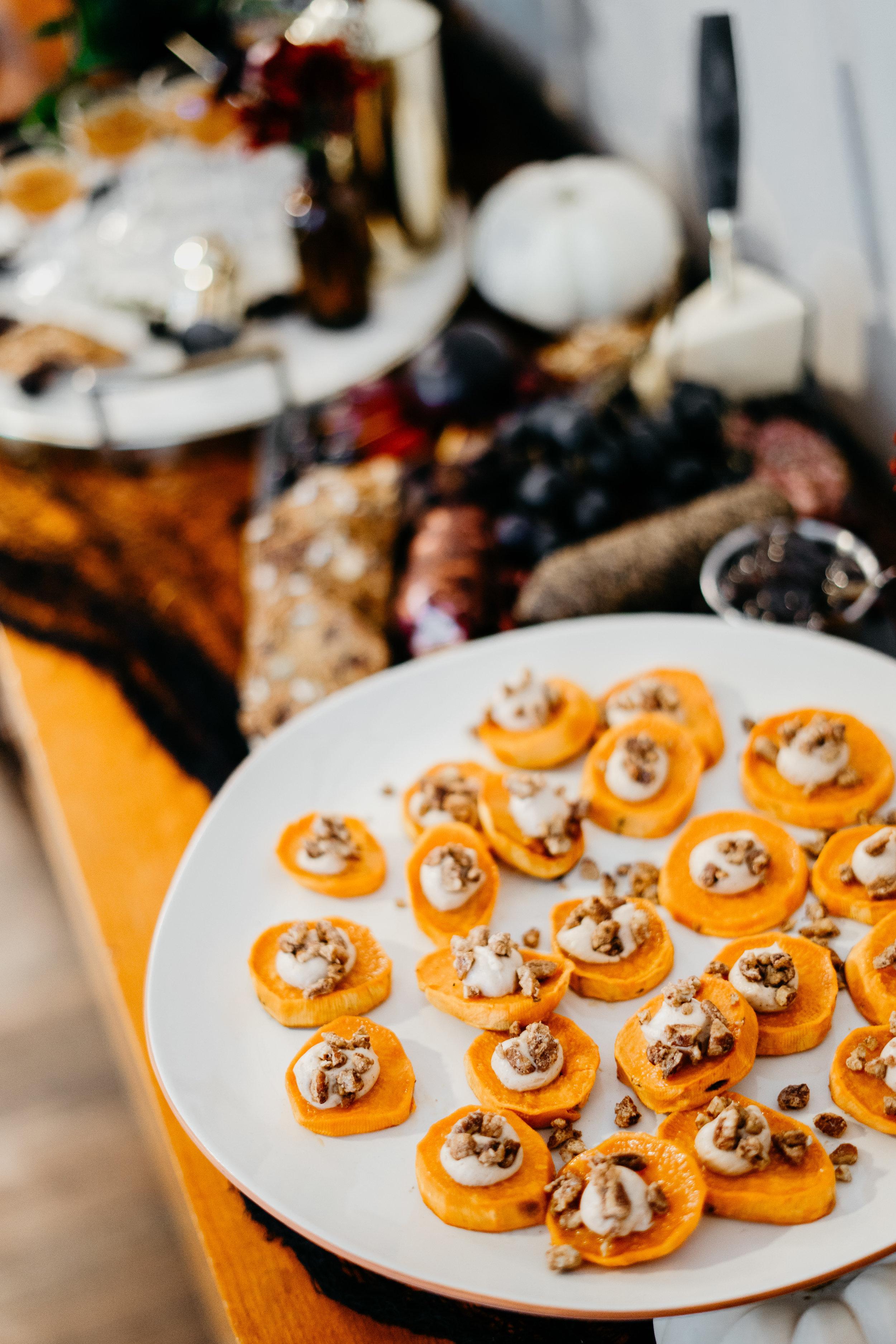 Sweet Potato Bites - Halloween