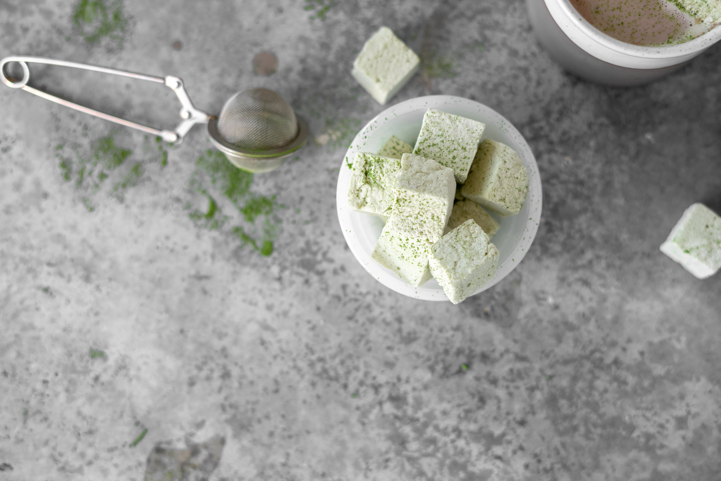 Matcha Marshmellows