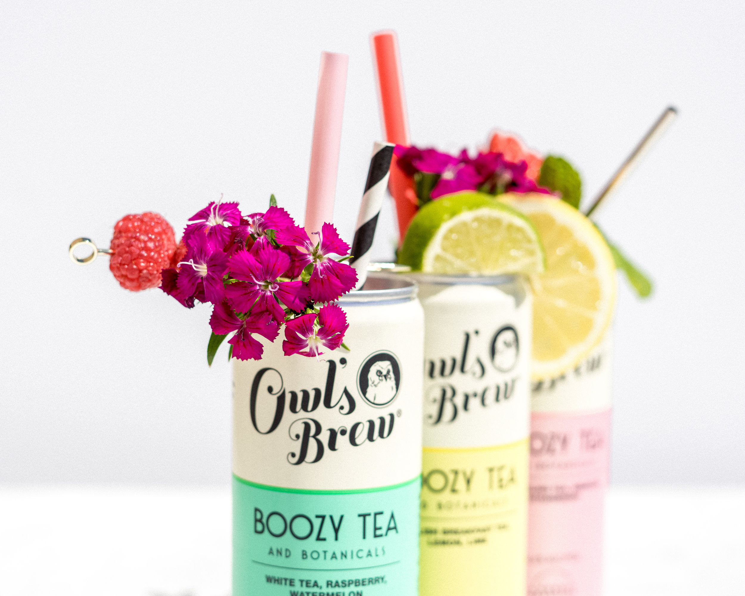 Boozy Canned Tea Cocktail - The Owl's Brew