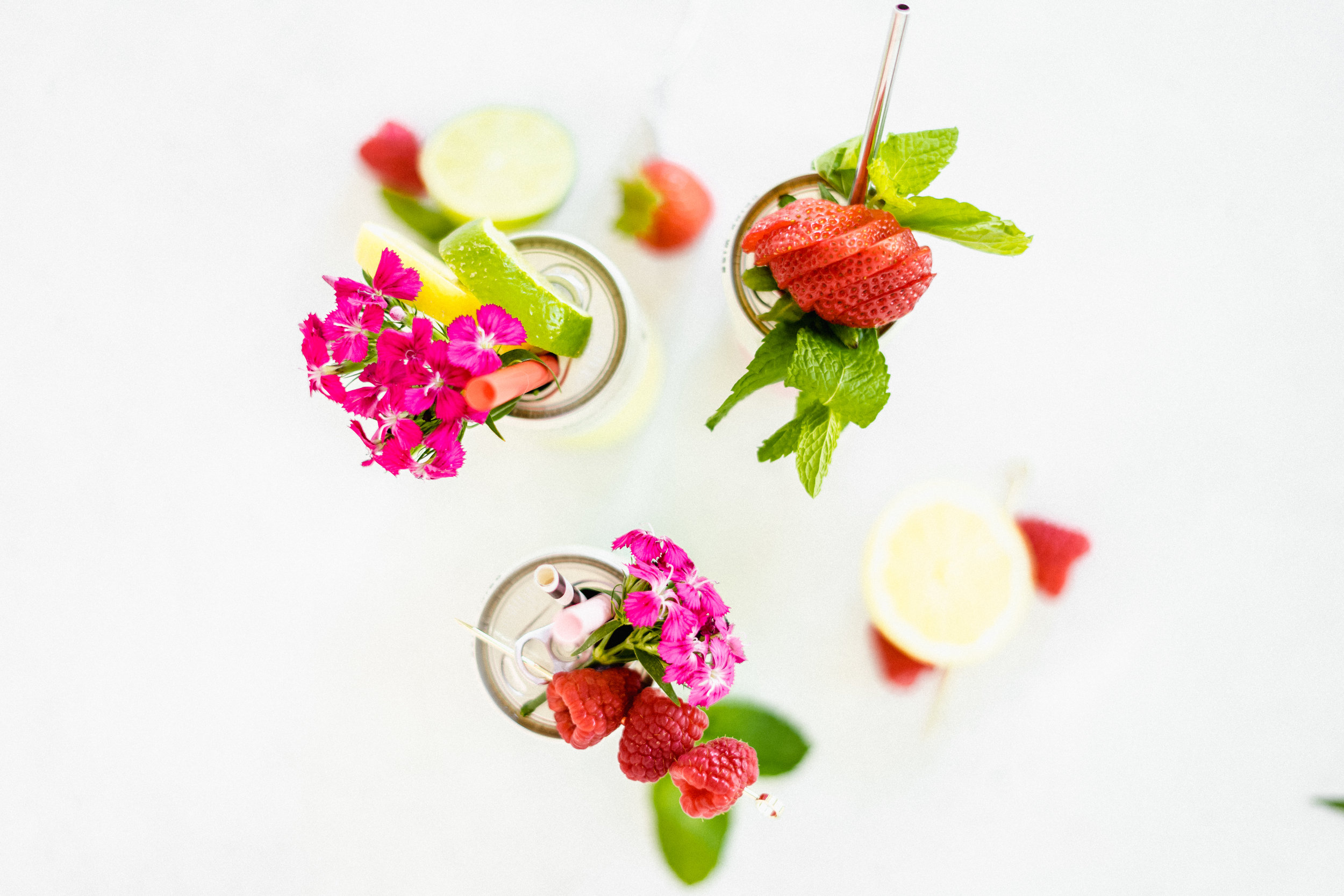Dressed Can Cocktail Fruit Garnishes