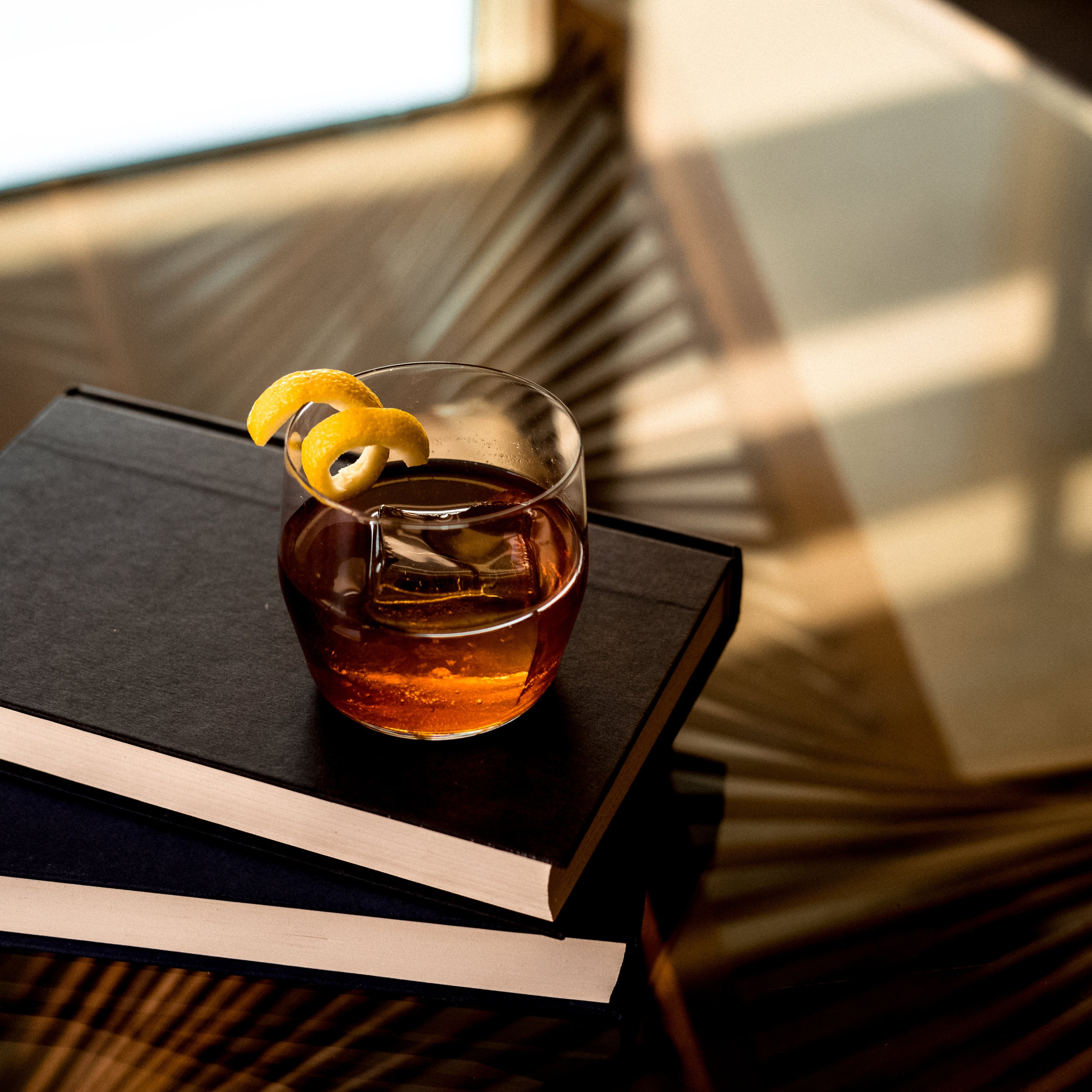 Featured Cocktail - Old Fashioned with Amaro and Cognac