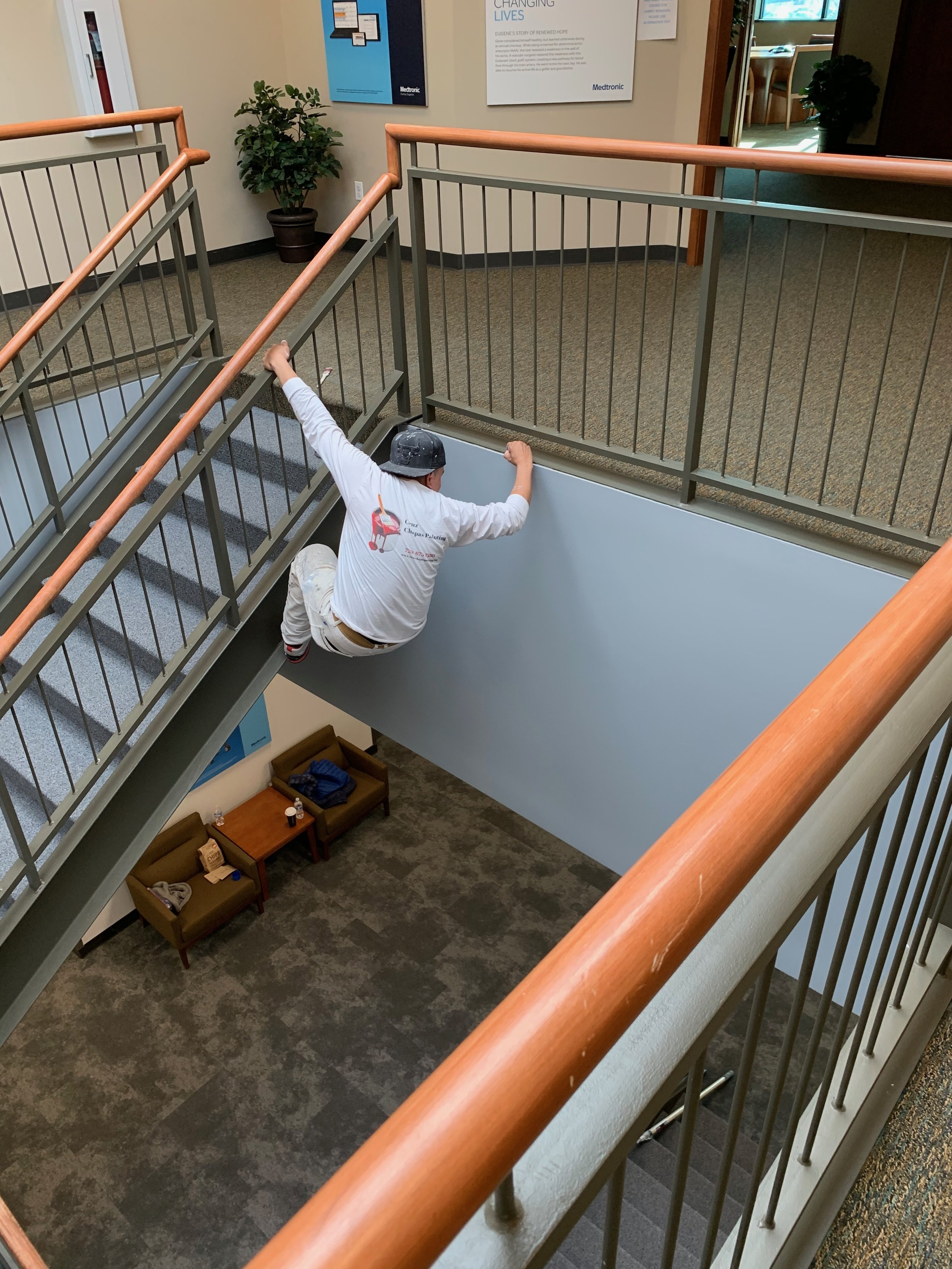 Medtronic building three core stairwell 4-27-19.JPG