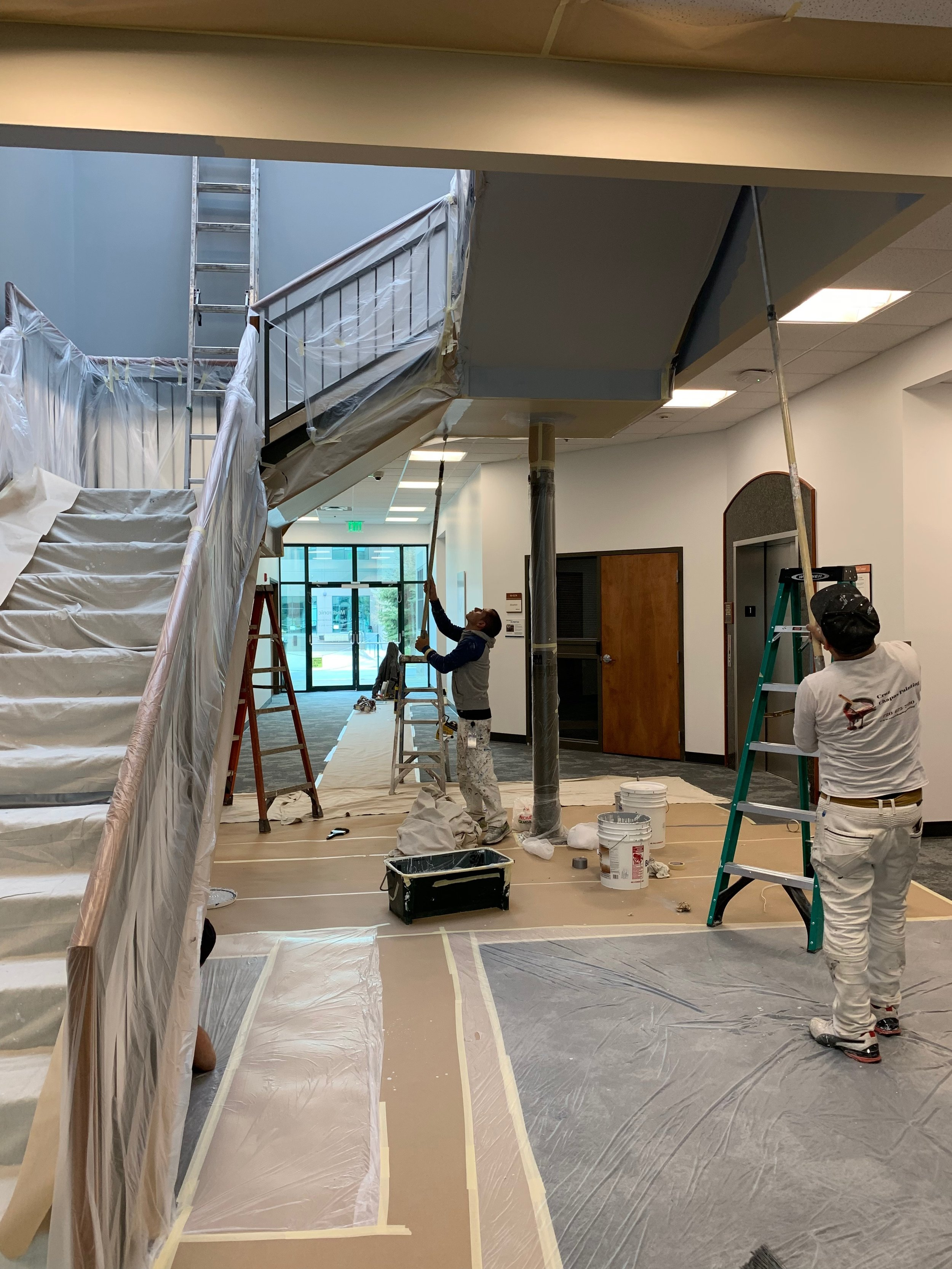 Medtronic building three first floor and core stairwell 4-27-19 #2.JPG