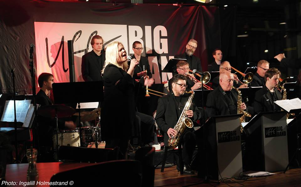 Cina & Uffe Big Band - The Company, Borås Sweden