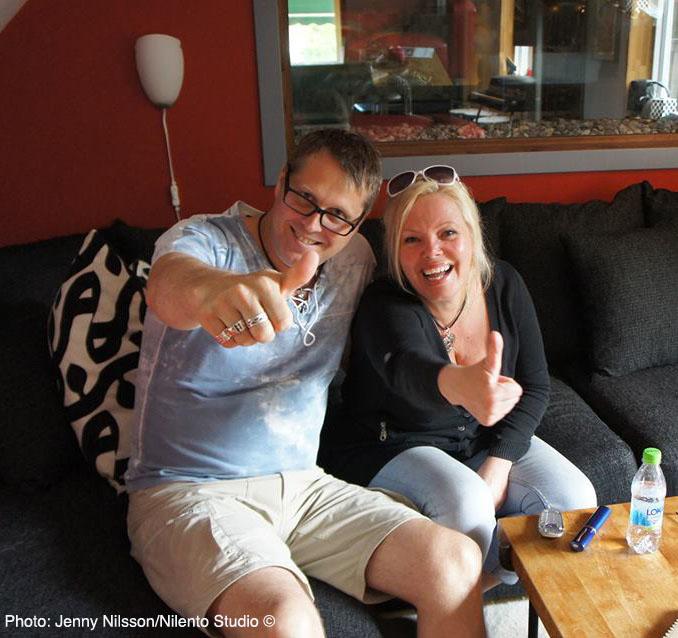 Cina & Lars Nilsson - Nilento Studio, Gothenburg Sweden