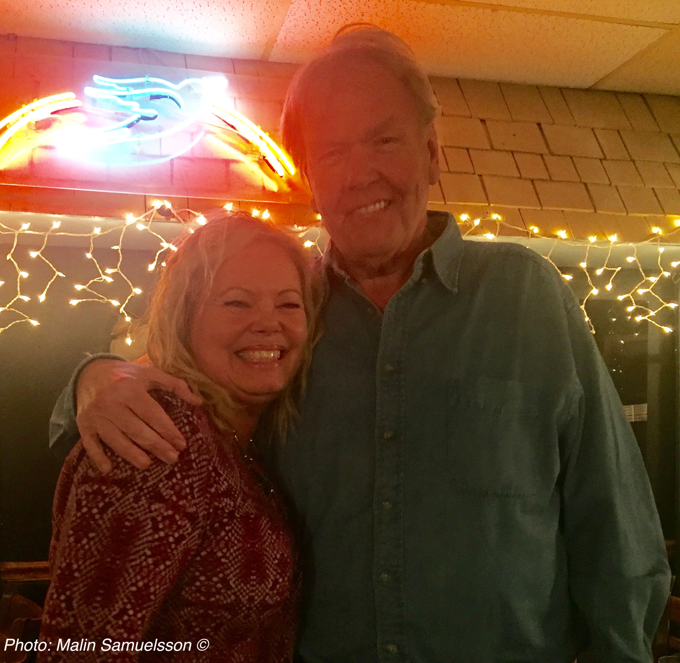 Cina & Al Anderson at The Bluebird Cafe Nashville, TN
