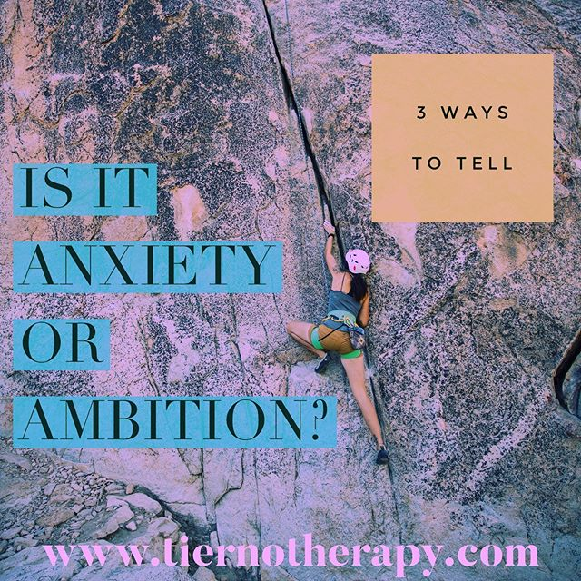 You're striving, you're achieving, you're getting things done...but you can't turn your brain off at bedtime, and sometimes even small decisions leave you obsessing. Click the link in my bio to read my latest blog: Is It #Anxiety or #Ambition? ・・・ #socialanxiety #anxietytreatment #anxietyrelief #anxietysucks #therapyworks #therapy #strongwomen #womeninstem #womeninbiz #womenwhocode #executivewomen #womeninfinance #womeninbusiness #womeninsuits #powerwomen #womenintech #sevensisters #ivyleague #reallife #empowerment #adulting #psychotherapy #louisvilleco #louisvillecolorado #boulder #bouldercolorado #bouldercounty