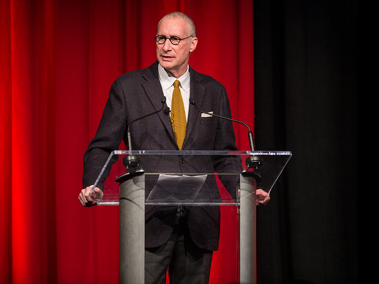 "- No other media company could win an Oscar, Emmy and the National Magazine Award for General Excellence in a single year,"" said John Skipper, ESPN president.  ""Every day I am struck by the energy, creativity and focus of our people to stay in front.  As we enter 2018, I like our hand."