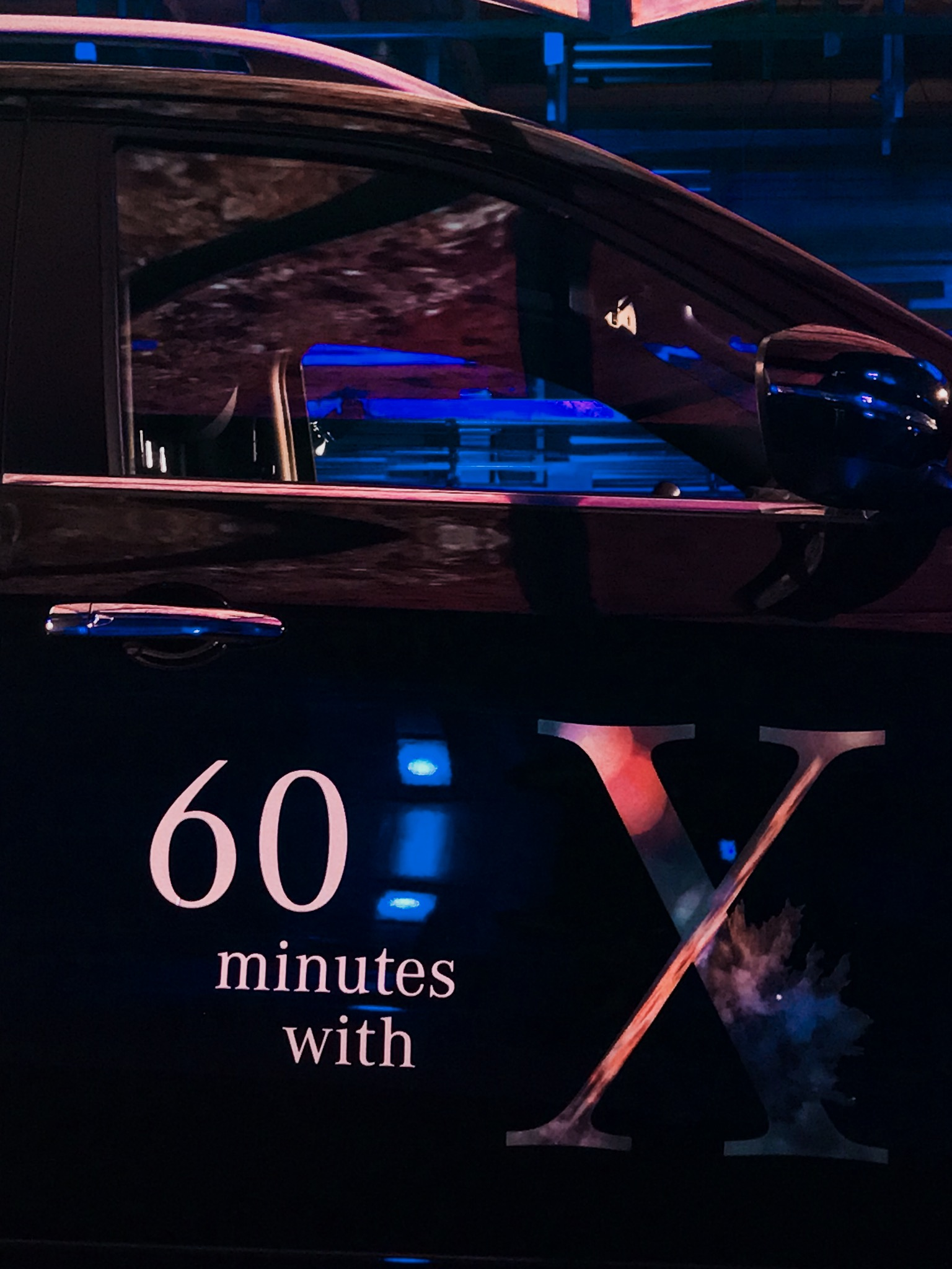 #60minuteswithX