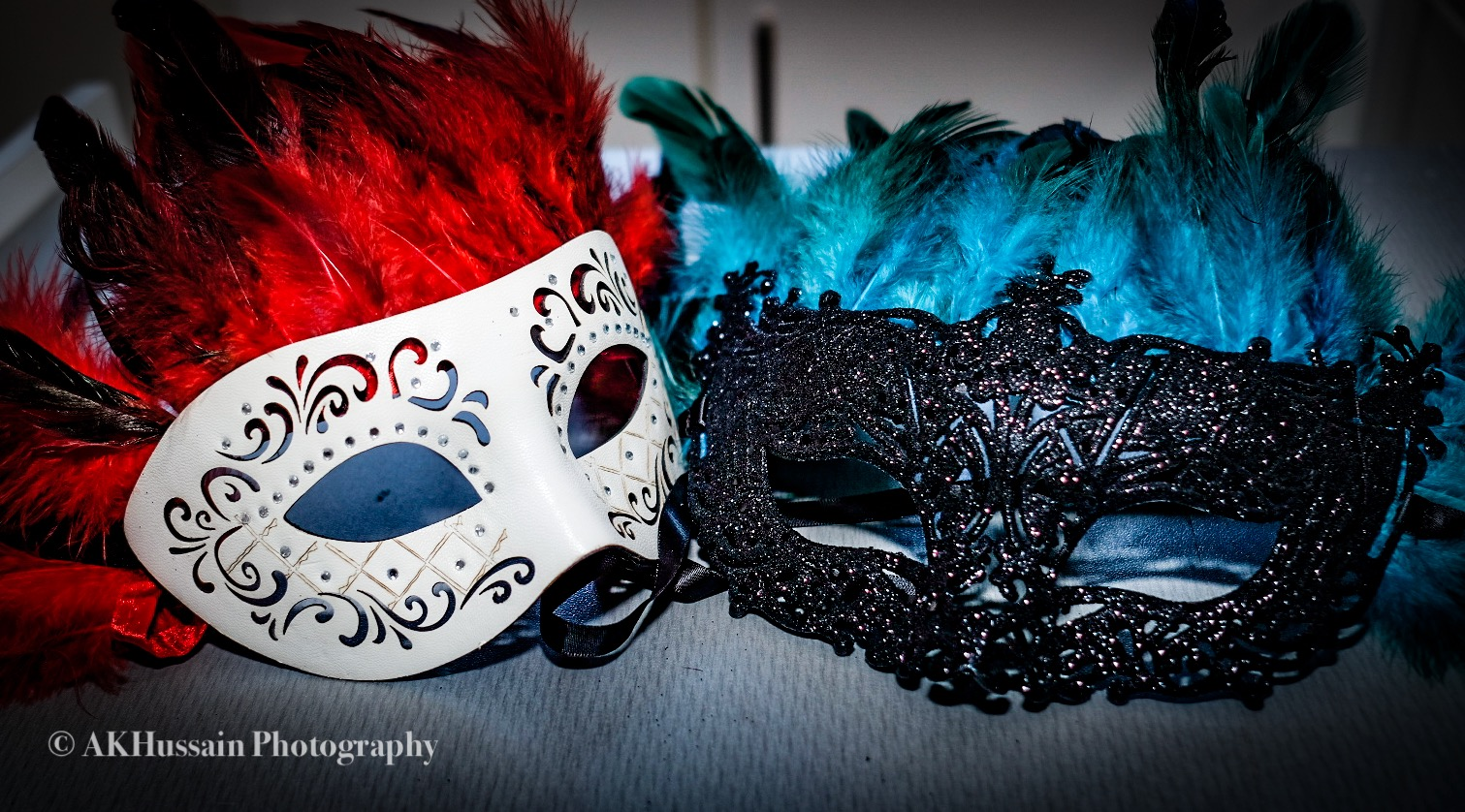 My homemade masks.. yes i wore them too