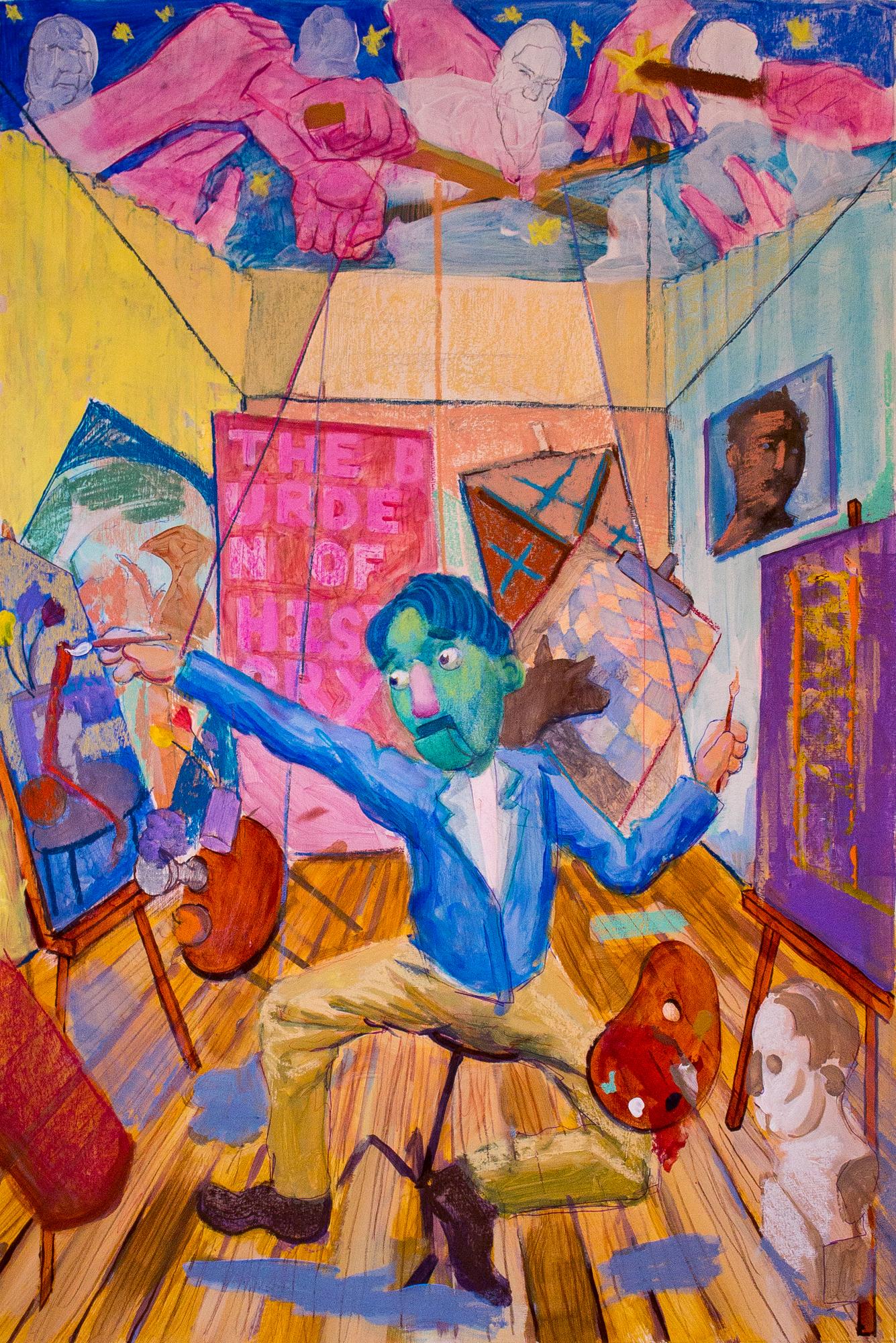 The Burden of the Artist (As Felt by a Muppet)