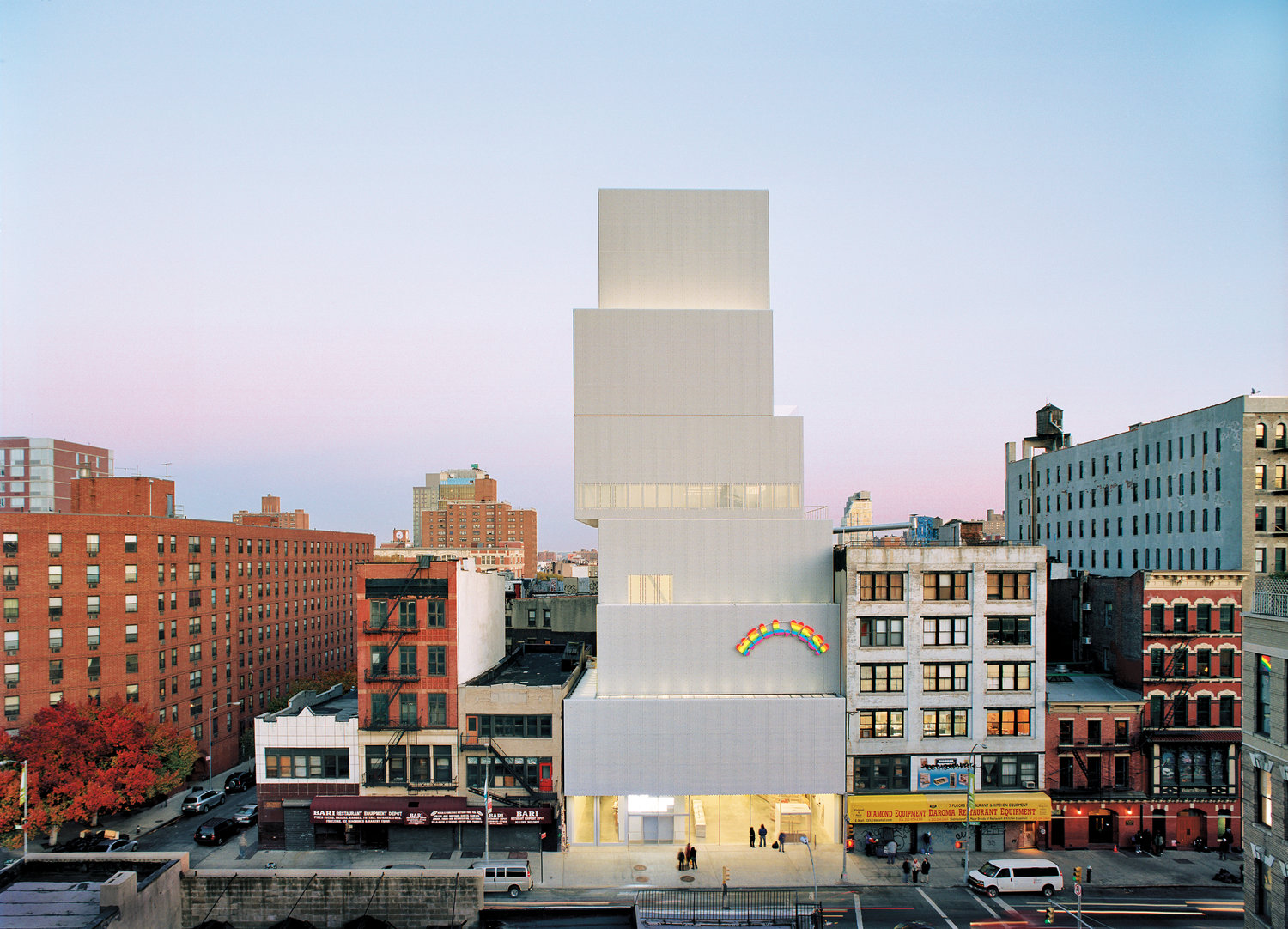 NEW MUSEUM 235 Bowery New York NY 10002 USA Museum