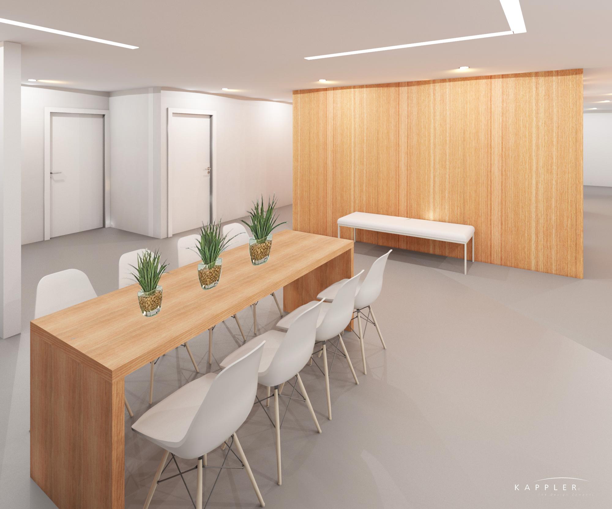 modern dental office meeting room