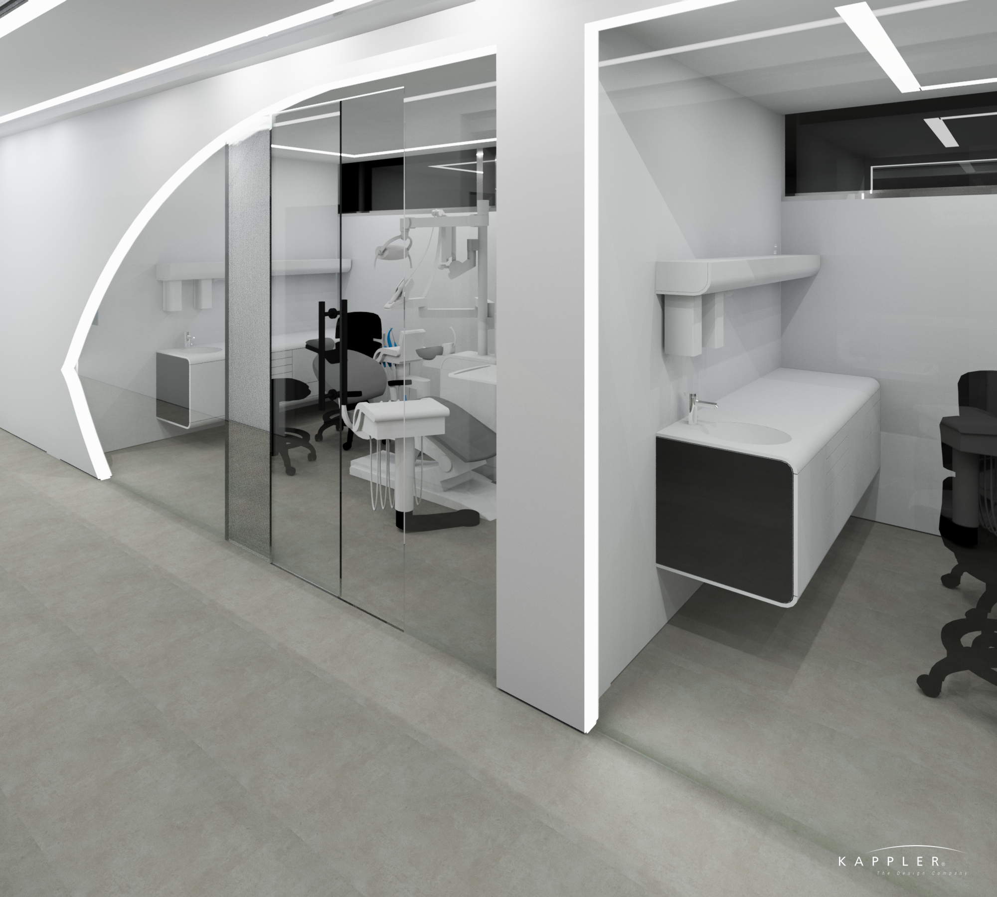 luxury design dental office operating rooms