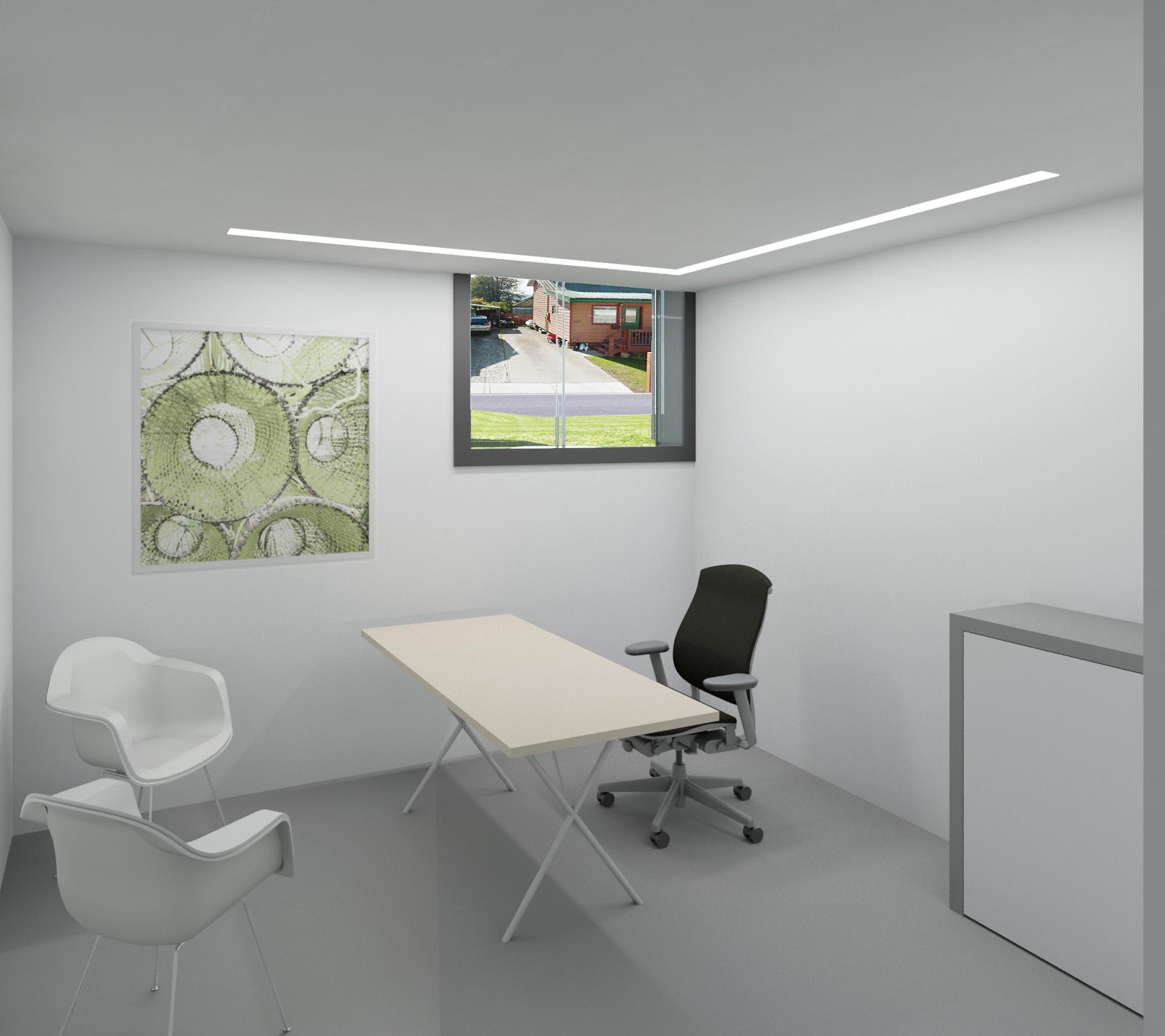 modern dentist's office