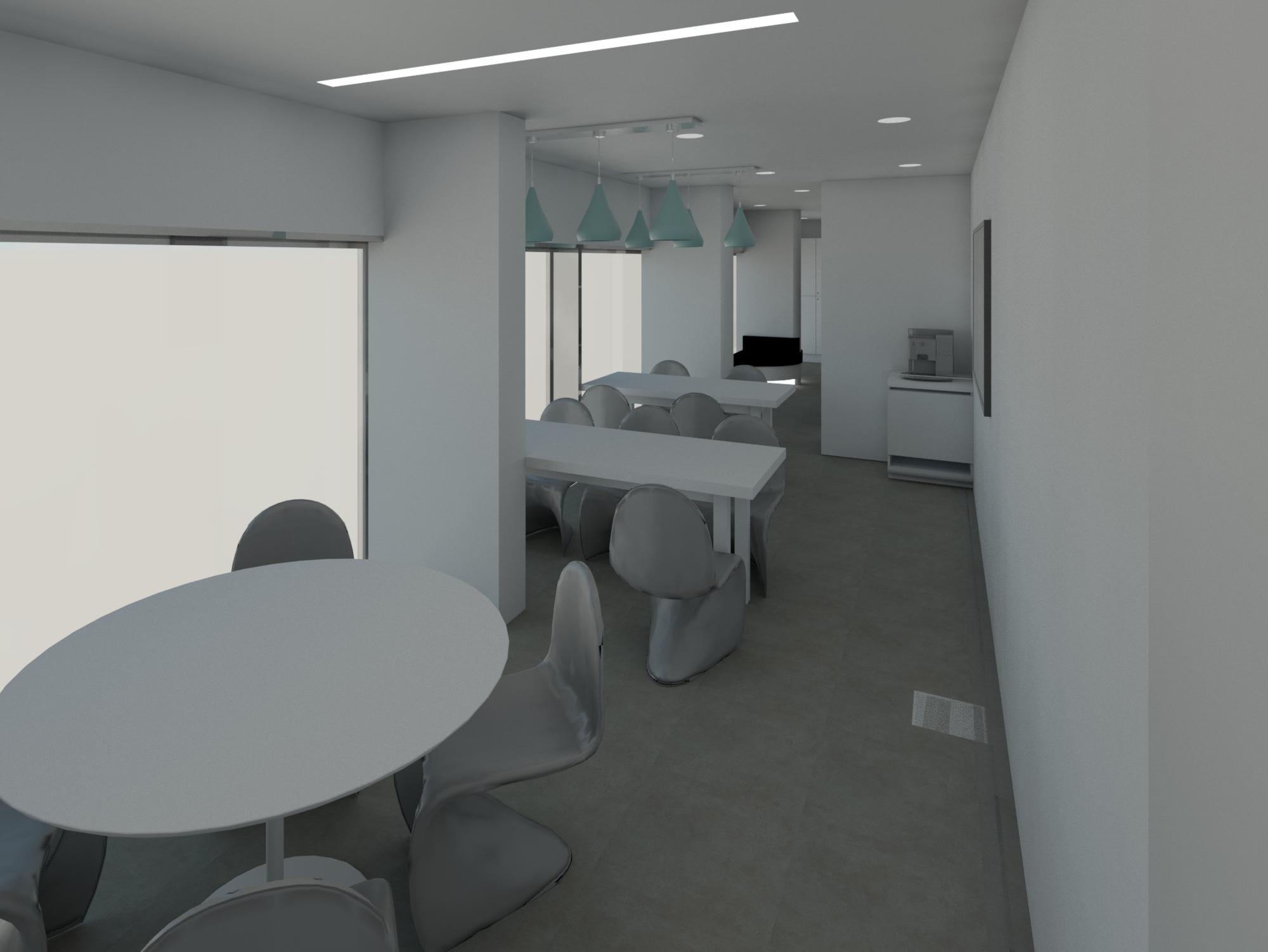luxury dental office staff room