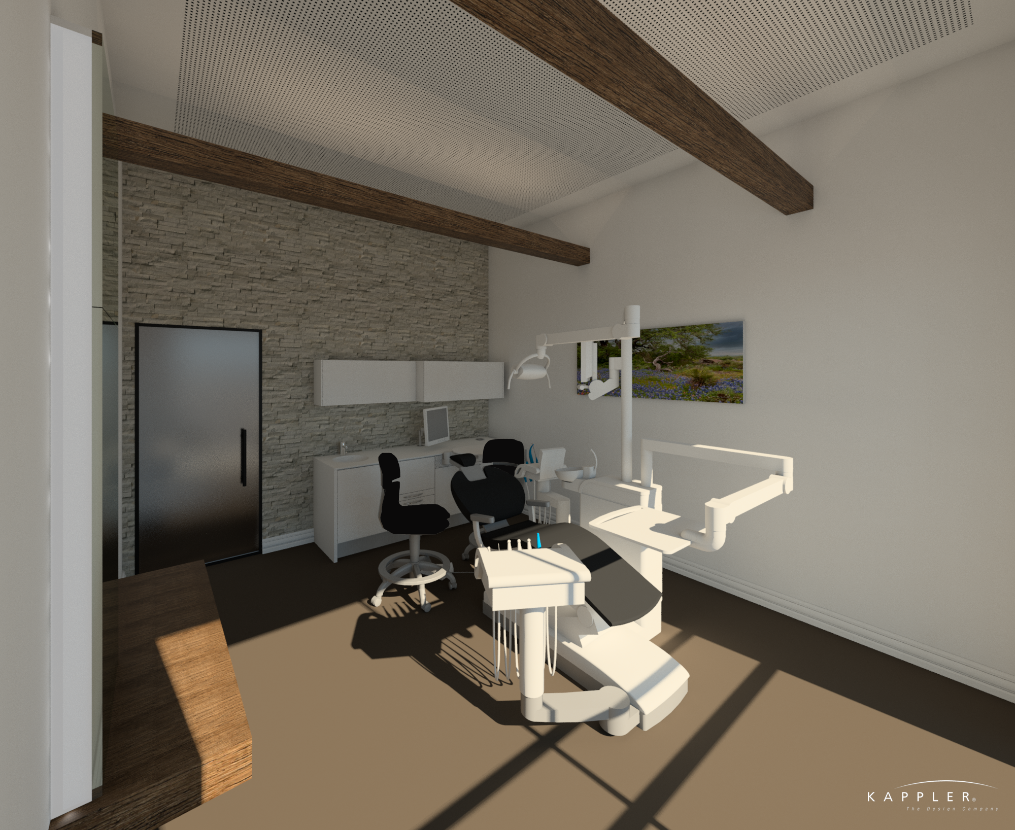traditional dental operating room design concept