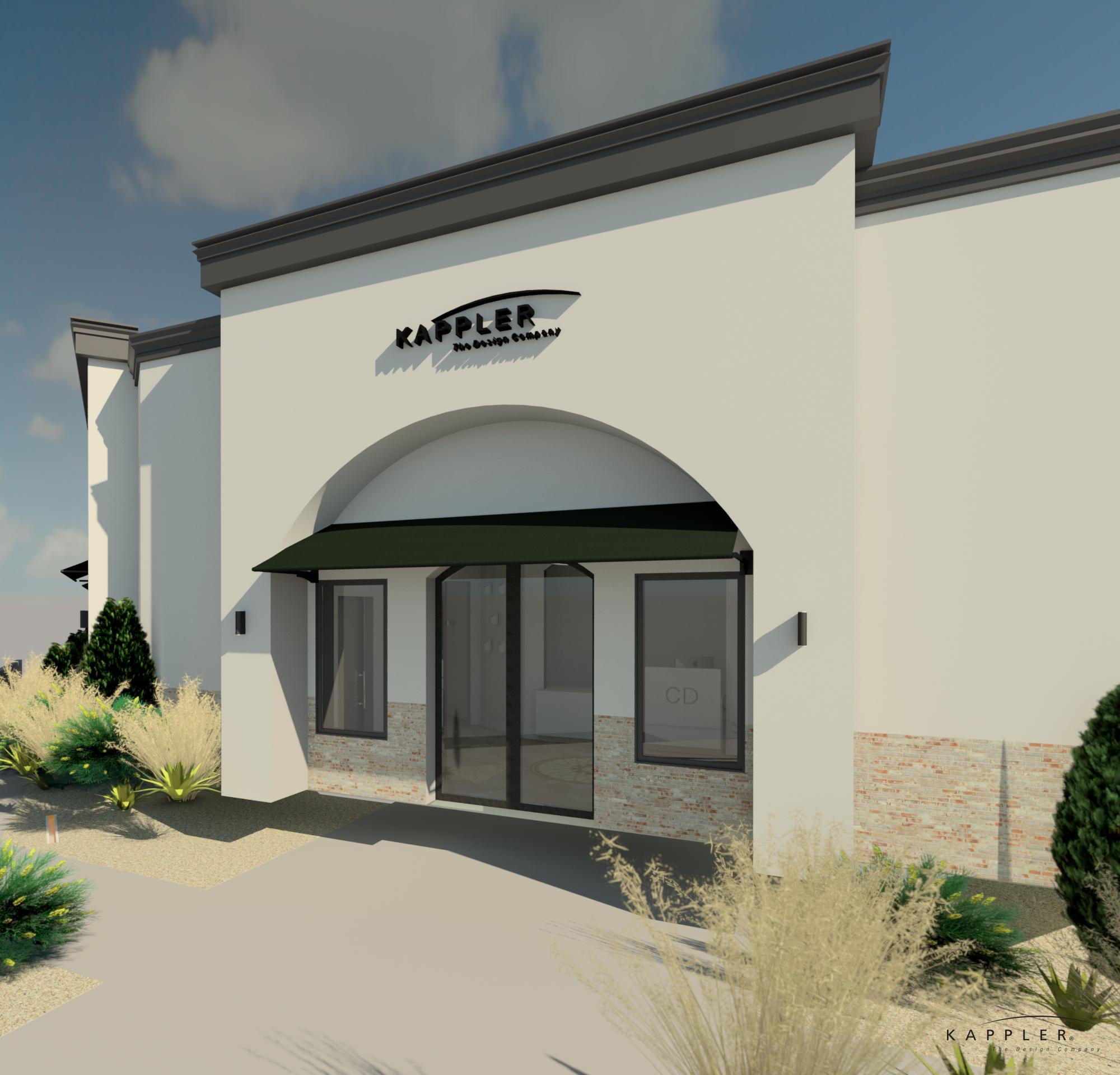 Texas dental office design exterior